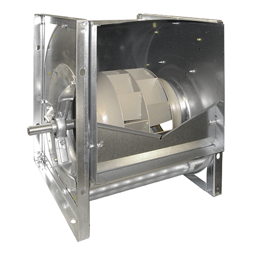 Engine Driven Centrifugal Blower : Double inlet centrifugal fans belt driven with backward