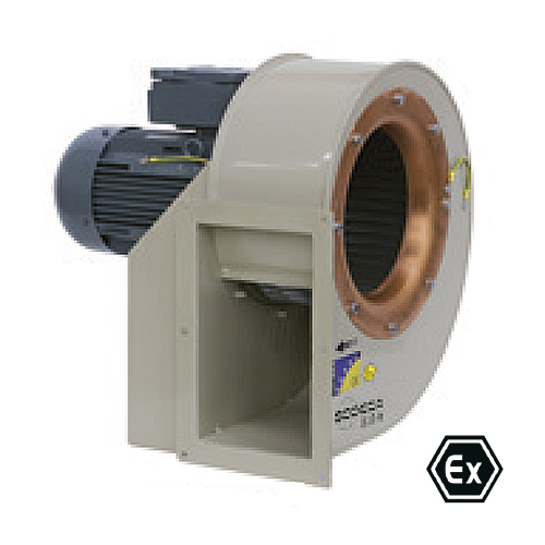 Single Inlet Centrifugal Fans With Atex Certification Cmp