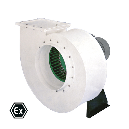 Corrosion Proof Single Inlet Plastic Fans With Ex